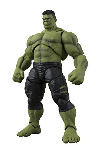 Bandai Tamashii Nations S.H.Figuarts Avengers Infinity War Hulk Actionfigur, grün