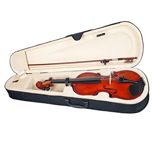 YUXIwang Violine Akustische Violine 1/8 Größe mit Tragetasche und Bogen, Anfängerpackung, für 4-5...