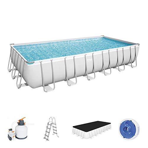 Bestway 56475 Pool, grau, 732 x 366 x 132 cm