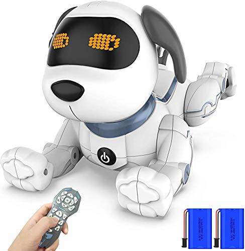 Ok K! okk Fernbedienung Hunderoboter, 2020 Neu Ferngesteuerter Hund mit Singen, Tanzen, Sprechen,...