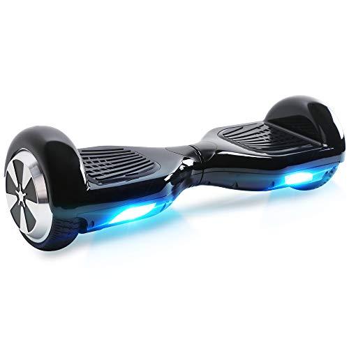 BEBK Hoverboard mit 2x250W-Motoren und LED-Lichtern