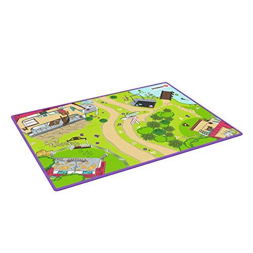 Schleich 42465 Horse Club Spielset - Spielteppich Horse Club, Spielzeug ab 5 Jahren