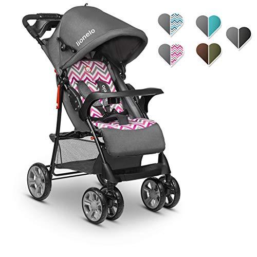 Buggy Sportwagen Klappbar Leichter Kinderwagen Baby mit Liegeposition von Geburt an bis zu 15 kg Blau