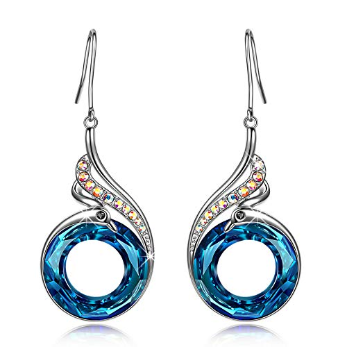 Kate Lynn Ohrringe für Frauen, Phoenix Serie Ohrringe Symbolisiert Glück und Ewigkeit, Schmuck...