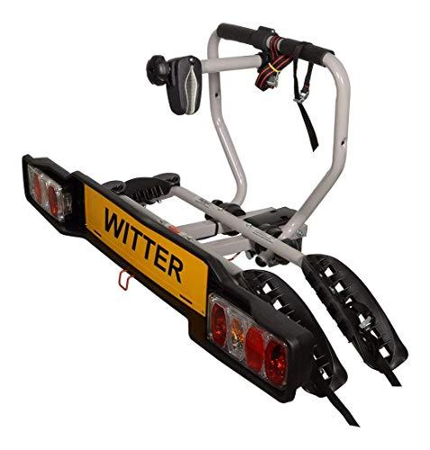 Witter Towbars ZX202EU Fahrradträger für Anhängerkupplung - Kupplungsträger für 2 Fahrräder...