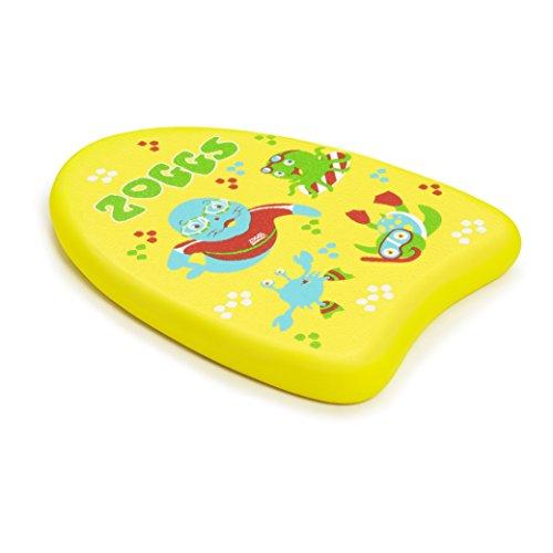Zoggs Kinder Kickboard Zoggy Mini Schwimmbrett, Gelb, Standard