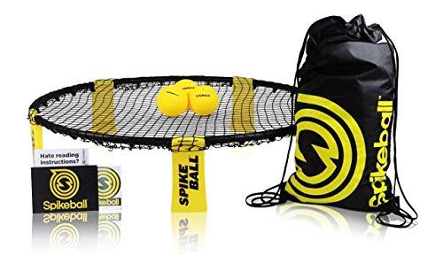 Spikeball-Set mit 3 Bällen - Zum Spielen im Freien, im Haus, im Garten, am Strand, bei Ausflügen, im...