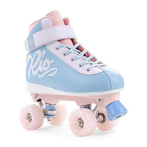 Rio Roller Milkshake Rollschuhe Unisex Kinder 37 Rosa (Cotton Candy)