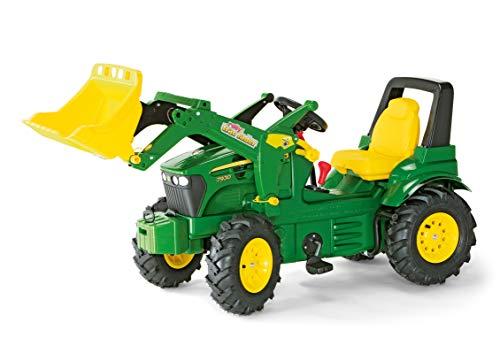 Rolly Toys S2671012 Toys rollyFarmtrac John Deere 7930 (mit Frontlader, für Kinder von 3 bis 8 Jahre,...