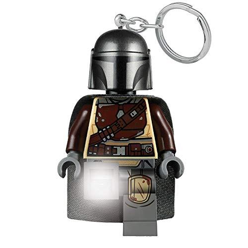 Star Wars The Mandalorian Lego Schlüssel anhänger mit Taschenlampe