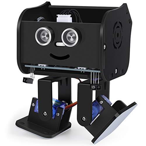 ELEGOO Roboter Penguin Bot Zweibeiniger Roboter Baukasten Kompatibel mit Arduino IDE, Mint Spielzeug mit...