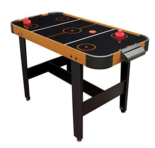 Airhockey Tisch mit Luft inkl. Zubehör Air Hockey Spieltisch mit elektronischem Luft-Gebläse für...
