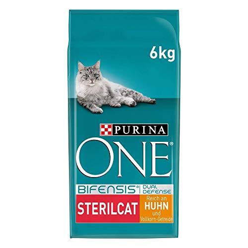 PURINA ONE BIFENSIS STERILCAT Katzenfutter trocken für sterilisierte Katzen, reich an Huhn, 1er Pack (1...