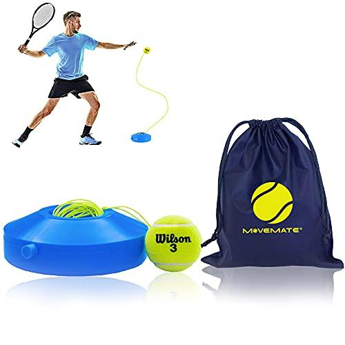 MOVEMATE Tennis-Trainer Set mit Wilson® Tennisball   innovatives Ballspiel für Draußen, im Garten, im...