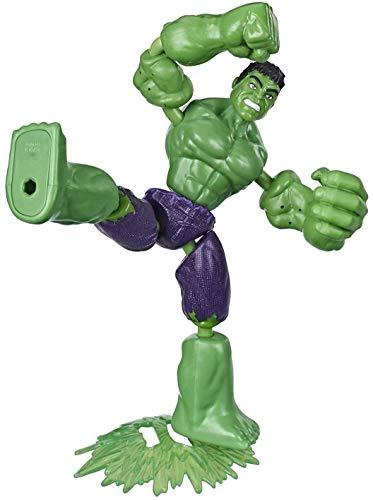 Hasbro Marvel Avengers Bend And Flex Action-Figur, 15 cm große biegbare Hulk Figur, enthält ein...