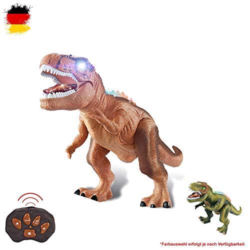 HSP Himoto XXL RC Ferngesteuerter Dinosaurier T-Rex, ca. 50cm groß, Gehfunktion, Sound- und Lichteffekte...