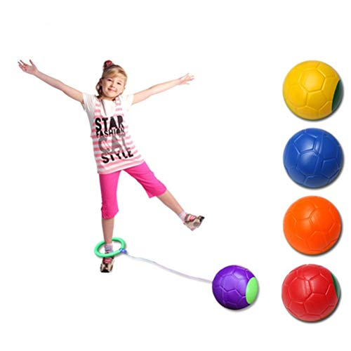 Ysoom Springbälle Spielzeug Bedruckter Hopperball, Hüpfball, Springball, Hopper Ball für Drinnen...