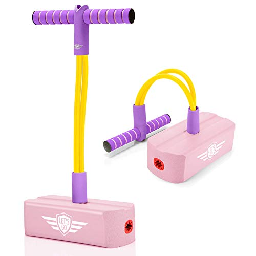 Kimy Spielzeug mädchen 3 4 5 6 7 8 Jahre, Outdoor Spiele für Kinder ab 2-10 Jahre Hüpfball für Kinder...