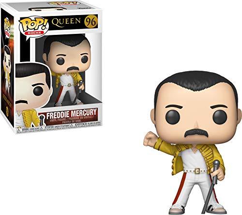 Funko 33732 Pop! Vinyl: Rocks: Queen: Freddie Mercury (Wembley 1986)