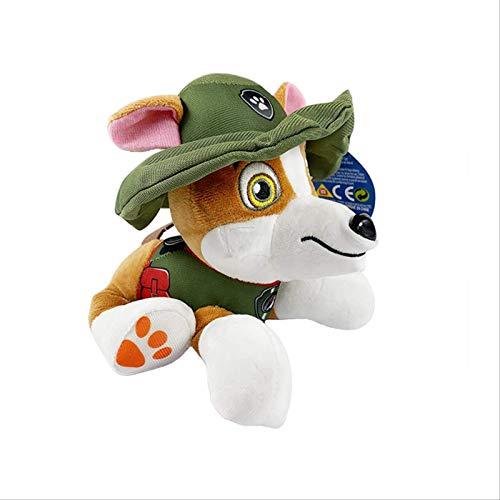 JIAL Paw Patrol Dog Plüschtier Animated Charakter Tracker Dog & Everest Dog Patrol Action-Figur Kinder...