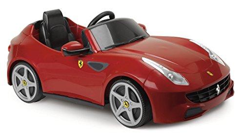 FEBER Famosa 800007680 - Ferrari - Elektrischer Spielzeugsportwagen für Kinder von 3 bis 6 Jahren, 6V,...