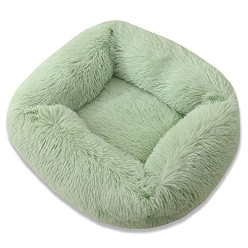 CCLIN Hundebett Langes Plüsch Einfarbige Haustierbetten Katzenmatte Für kleine mittelgroße Haustiere...