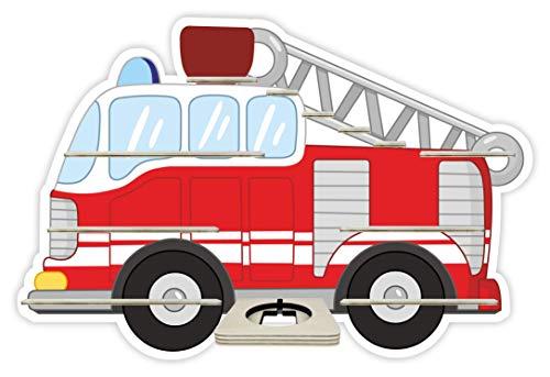 Farbklecks Collection Musikboxregal Feuerwehr mit Leiter