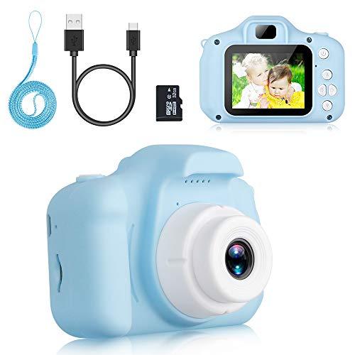 Komake Kinderkamera, Kinder Digital Kamera Spielzeug Kleinkind Kamera Spielzeug 2 Zoll HD-Bildschirm...