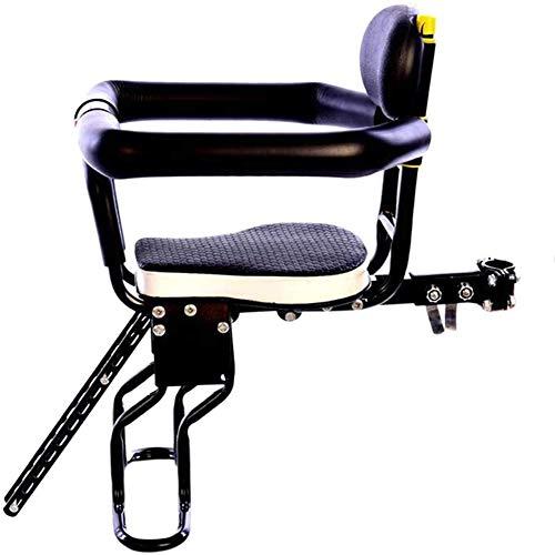 Kindersitz Fahrrad Abnehmbarer Fahrrad-Vordersitz Kindersitz Pedal Mit Griff Für Kinder 2-7...