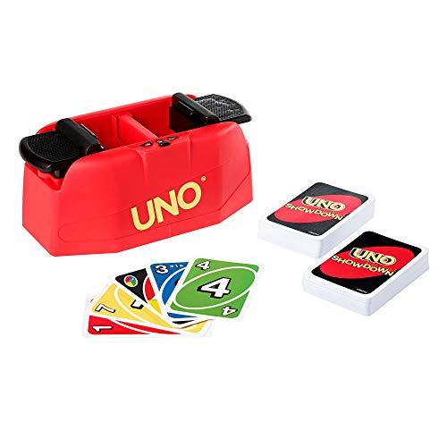 Mattel Games GKC04 UNO Showdown Kartenspiel und Familienspiel für 2 bis 10 Spieler ab 7 Jahren