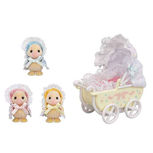 Sylvanian Families: Darling Ducklings Baby Carriage (5601)