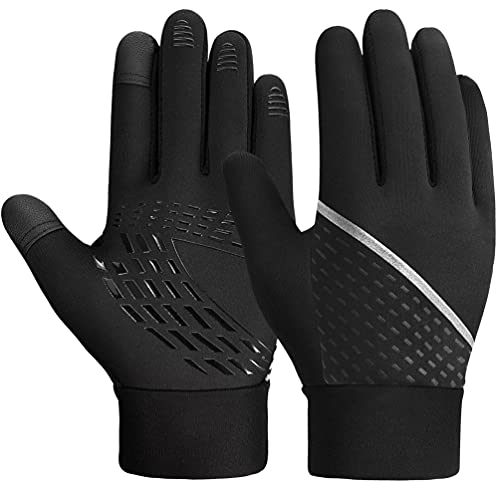 Kinder Handschuhe Warme Winterhandschuhe - Kids Outdoor Sport Thermo Fleece Fahrradhandschuhe...