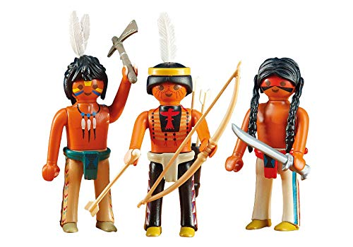 PLAYMOBIL® 6272 3 Sioux-Indianer (Folienverpackung)