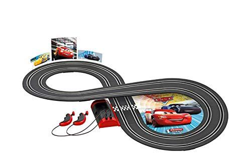 Carrera 20063022 - first Disney Pixar Cars 2,4 Meter Autorennbahn, ab 3 Jahren