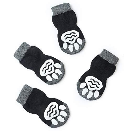 Pet Heroic Indoor Anti-Rutsch Socken für Hunde und Katzen -8 Größen von S bis 5XL für...