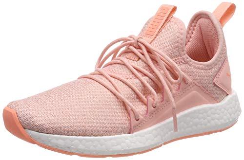 Puma NRGY Neko Knit Jr, Unisex-Kinder Sneakers, Pink (Peach Bud-Puma White-Bright Peach), 37.5 EU