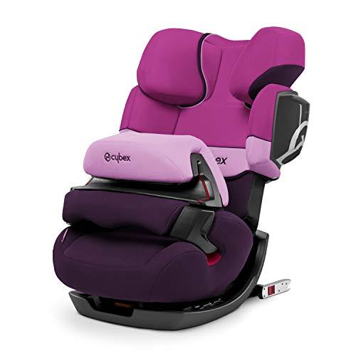 CYBEX Silver 2-in-1 Kinder-Autositz Pallas 2-Fix, Für Autos mit und ohne ISOFIX, Gruppe 1/2/3 (9-36 kg),...