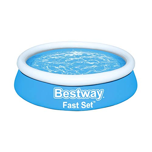 Bestway Fast Set Pumpe, rund, 183 x 51 cm Pool, Blau