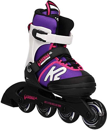 K2 Cadence 30E0876 Children's Multicoloured Adjustable Inline Skates / Roller Blades / Roller Skates for...