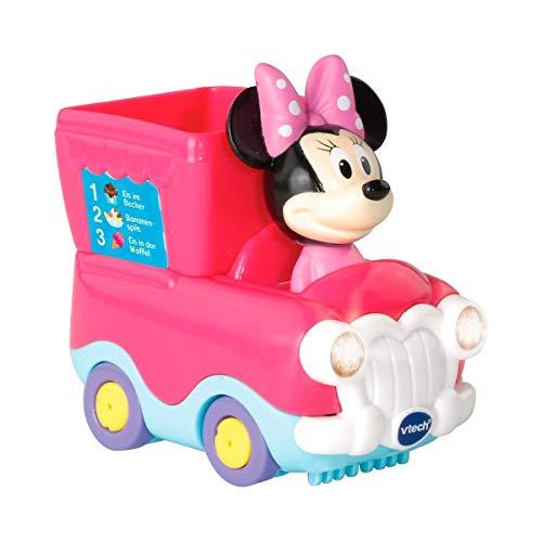 Vtech 80-512104 Tut Tut Baby Flitzer - Minnies Eiswagen, Babyautos, Mehrfarbig