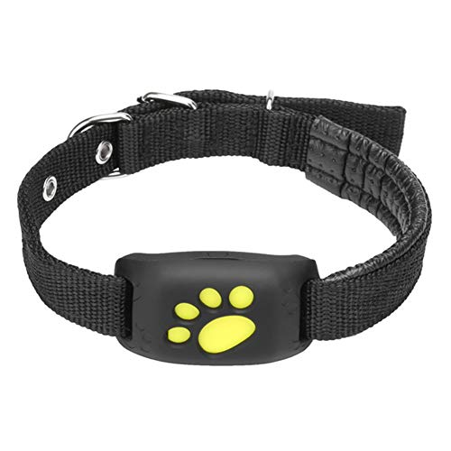 XUANWEI Haustier GPS Tracker Hund Katzenhalsband wasserdichte GPS-Rückruffunktion USB-Lade-GPS-Tracker,...