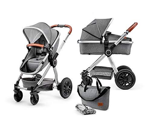 Kinderkraft Kinderwagen 2 in 1 VEO, Kinderwagenset, Kombikinderwagen, Sportwagen, Buggy und Tragewanne in...
