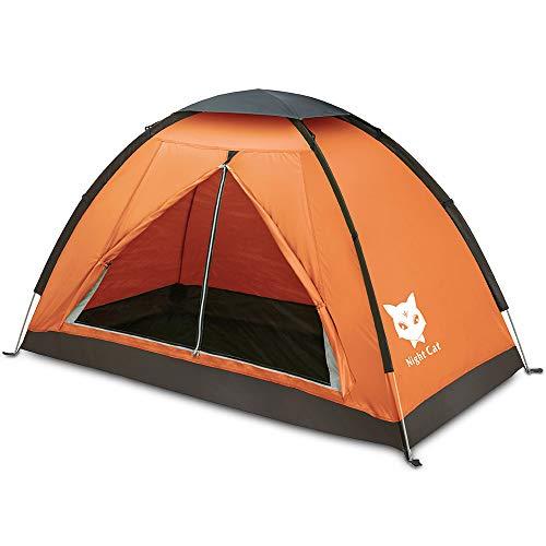 Night Cat Ruckzuck Zelt 1 Personen Mann Wasserdicht Zelt Leicht Camping Atmungsaktiv Einfache...