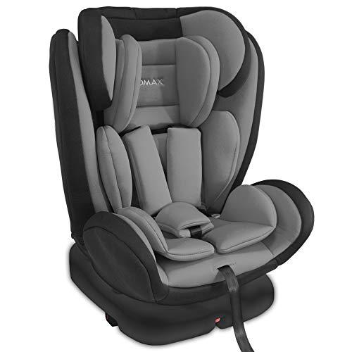 XOMAX KI360 Kindersitz drehbar 360° mit ISOFIX und Liegefunktion I mitwachsend I 0-36 kg, 0-12 Jahre,...