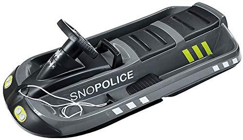 Hamax Bob Lenkbob Schlitten 109cm SNO Police 2 Personen