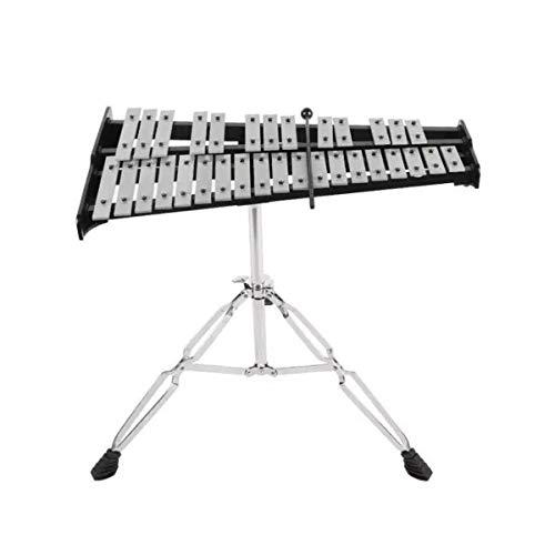 Percussion Set Xylophone Aluminium Piano 32 Anmerkung Orff-Instrument mit Tasche Bell-Schlägel