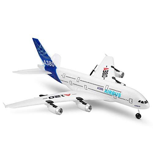 Jamicy® Ferngesteuerte Flugzeuge,RC Segelflugzeug, WLTOYS A120-A380 Airbus 510mm Spannweite 2,4 GHz 3CH...