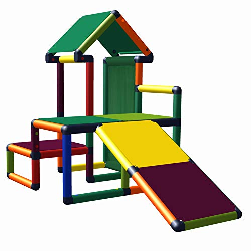 Nemo Mein erstes Mas Spielhaus mit Kleinkindrutsche für Kinderzimmer oder Spielzimmer genauso geeignet...