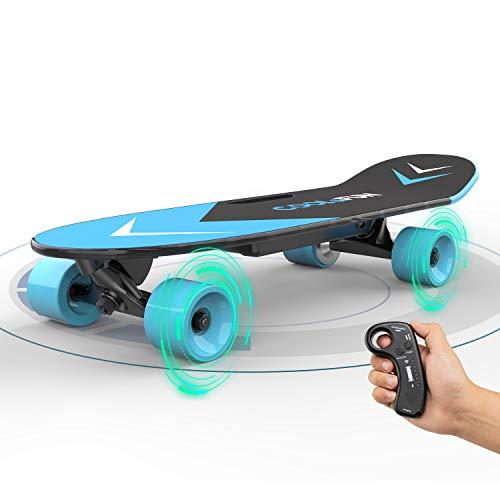 Elektrisches Skateboard mit ferngesteuertem Longboard für Kinder und Erwachsene, 150-W-Motor, zwei...