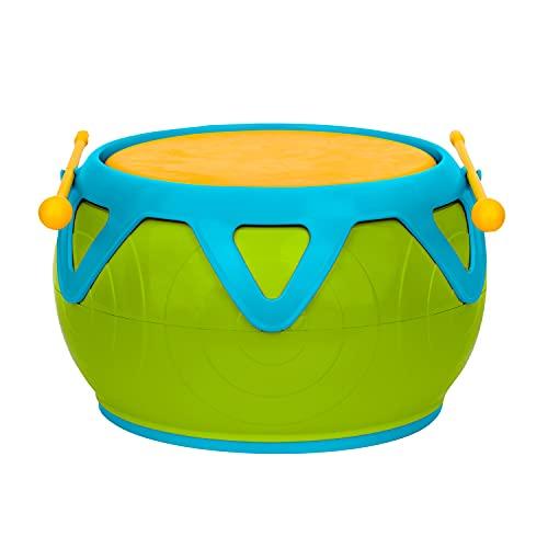 Voggenreiter Dschungel-Trommel, Musikinstrument für Kinder ab 18 Monaten (robuste Trommel für Kinder im...